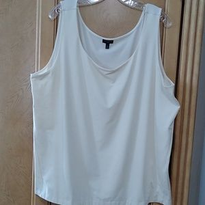Talbot's cream colored tank top